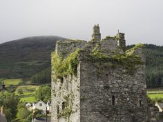 Just over the Northern Ireland border, Carlingford, County Louth, a seaside town on the back side of the Mourne Mountains. It has medieval streets and structures but most of medieval charm having beed established in 1326.