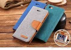 Customize Your Own Cell Phone Case Luxury Brand Card Slot Stand Wallet Leather Case For Iphone 6/6 Plus Samsung Galaxy S6/S6 Edge Fashion Cloth Skins Flip Cover Custom Leather Cell Phone Cases From Mayiandjay, $3.4