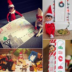 58 cute and creative ideas for your Elf on the Shelf!