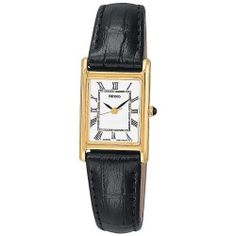 Seiko Gold Tone Stainless Steel Leather Watch - SXGN42 - Women - product - Product Review