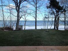 Winter morning at the Lake Erie Shoreline, Ohio, 2013. Photo via Twitter @cindyhaibach