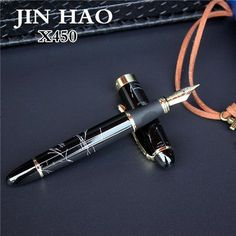 JINHAO X450 advanced fountain pen 18K GP Nib ink pen 21 colors can choose packing with black pen pouch hot selling