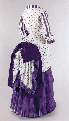 Mme  Bartholomé's summer dress, 1880  Musée d'Orsay - I don't even like purple but I would wear this.
