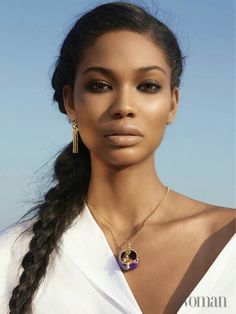 Editor's #Style Picks - Gorgeous natural #makeup Looks to try! #ZenMagazine   http://zenmagazineafrica.com/ Modeled by Chanel Iman Photographed by Louis Christopher Makeup by Sarah Daichi