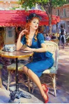 View Parisian Beauty by Konstantin Razumov on artnet. Browse more artworks Konstantin Razumov from Haynes Fine Art, London and Cotswolds. Renaissance Kunst, Aesthetic Women, Global Art, Woman Painting, Portrait Art, Oeuvre D'art, Female Art, Art History, Parisian