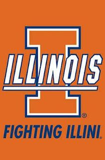 Fighting Illini. Her Alma Mater. First woman in her family to attend and graduate junior high, high school, AND college.