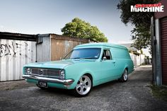 Chris Hardwick's HT Holden Panel Van is clean, simple and a straight-up headturner Australian Muscle Cars, Aussie Muscle Cars, Man Shed, Year 2016, Custom Vans, Ford Trucks, Hippy, Concept Cars, Hot Wheels