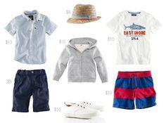 Summer look for boys