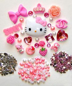 DIY Hello Kitty Cell Phone Case :)