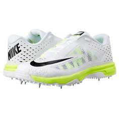 Nike Domain 2 Spike Cricket Shoes White and Grey 62457abdf