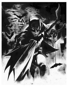 Batman IV - LSCC 2015 Pre-Show Commission by Mahmud Asrar