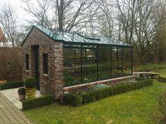 Mauergewächshaus nach Kundenwunsch #conservatorygreenhouse