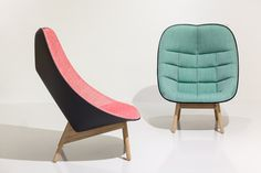 Doshi Levien bases Uchiwa armchair for Hay on a traditional Japanese fan