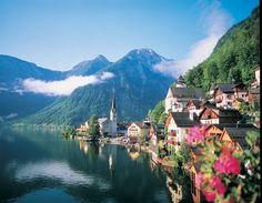Innsbruck, Austria Christmas In Europe, Innsbruck, Our World, Winter Wonderland, Austria, Beautiful Places, Tours, River, Mountains