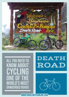 In this post you will find facts about Death Road in Bolivia, reasons why you should do it (or not) and whether it's suitable for people with little to absolutely no mountain biking experience, the itinerary and more. #boliva #deathroad #cycling #hiking #southamerica #backpacking Dangerous Roads, Once In A Lifetime, Road Cycling, Bolivia, Mountain Biking, South America, Need To Know, Backpacking, Death