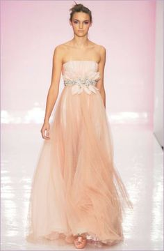 Peach wedding dresses | Wedding dress