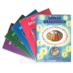 """Srimad Bhagavatam, Translated by His Divine Grace A.C. Bhaktivedanta Swami Prabhupada    Srimad-Bhagavatam, an epic philosophical and literary classic, holds a prominent position in India's voluminous written wisdom. This ancient text touches upon all fields of human knowledge.  After compiling the Vedas, Srila Vyasadeva was inspired to present their profound essence in the form of Srimad-Bhagavatam which is known as """"the ripened fruit of the tree of Vedic literature."""""""