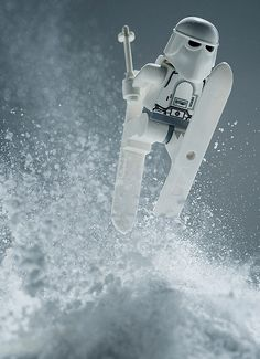 Stunning Star Wars photo series made with Legos and other toys by Avanaut.
