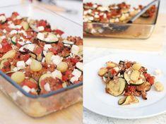 Gemüse-Auflauf mit Gnocchi und Feta   eatbakelove