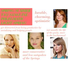 Light Spring personality