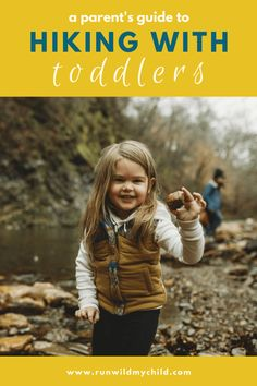 Hiking With A Toddler - beginner's guide to hiking with your toddler. Start hiking with your little one right away and she'll become your best hiking buddy sooner than you know it! Winter Hiking, Go Hiking, Hiking Tips, Hiking Food, Mountain Hiking, Hiking Gear, Hiking Backpack, Outdoor Baby, Outdoor Travel