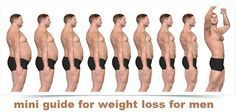 mini guide for weight loss for men