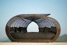I could sooo go to sleep in one of these--it should just be referred to as a 'napping complex'