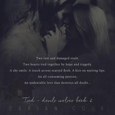 TEASER: TIED by Carian Cole | Kindle Friends Forever