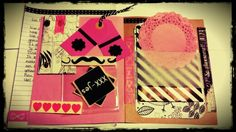 Snail mail happy mail black white and pink