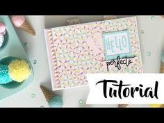 Tutorial: miniálbum Perfecto, colaboración con www latiendadelasmanual...