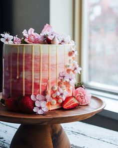 In case you were getting tired of my Tofino pictures, here's another photo of that strawberry and vanilla cake that's on the blog now.