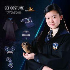 5fb518b82241 Ravenclaw Full Uniform  Scarf NeckTie Gloves Beanie Robe Écharpe Serdaigle