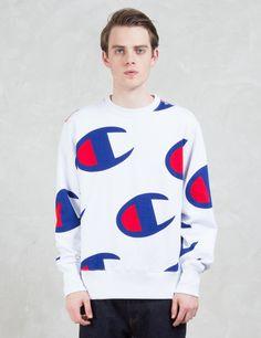 Champion Reverse Weave Overall Logo Sweatshirt