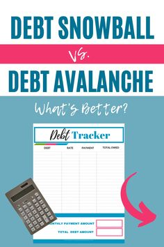 Debt Snowball vs Debt Avalanche: Which is Better? Find the best debt payoff solution for you! Dave Ramsey Debt Snowball, College Student Budget, Debt Snowball Worksheet, Money Makeover, Paying Off Credit Cards, Budgeting Finances, Budgeting Tips, Thing 1, Debt Payoff