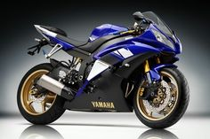 Yamaha R6    This machine I've had my eye on for so long it's part of my essence.  Love that Yamaha blue!  I may end up with a different bike one day, but this was the beginning of a dream!
