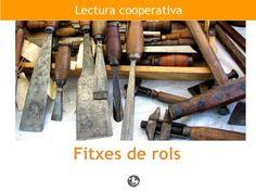 Lectura cooperativa. Fitxes de rols. By Guida Allès Pons via Slideshare