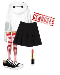 """~~~~"" by red-foxess-and-wolf ❤ liked on Polyvore featuring Diane Von Furstenberg, Revlon, Converse, women's clothing, women, female, woman, misses and juniors"