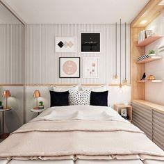 Mais imagens desse quarto gracinha que fizemos para o @apesobmedida! 💗#domumarquitetura