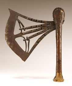 Ceremonial axe – Works – National Museum of African Art - Smithsonian Institution Copper Sheets, National Museum, Republic Of The Congo, African Art, Axe, Iron, Artist, Collections, Gift