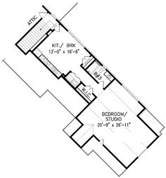 Craftsman Plan: 3,480 Square Feet, 2-3 Bedrooms, 3.5 Bathrooms - 699-00105 Lake House Plans, Craftsman House Plans, Ceiling Design, Square Feet, Bathrooms, New Homes, Floor Plans, How To Plan, Bedroom