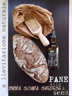 I biscotti della zia: Pane integrale alla birra scura svedese e semi