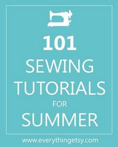 101 sewing tutorials