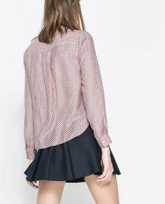 Zara Star Print Blouse 28