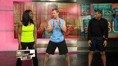 Lola & Shannon Work Out with Dr. Josh Axe #BurstFIT