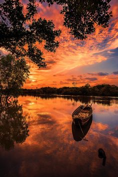 """River country"" by Duy Nguyen ~ sunset ~ Saigon, Vietnam ~ http://500px.com/photo/54352472"