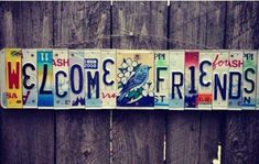 License Plate Art, Desert Art, Cactus Art, Cedar Wood, Rustic Feel, Hanging Signs, Travel Gifts, Cool Items, Cool Gifts