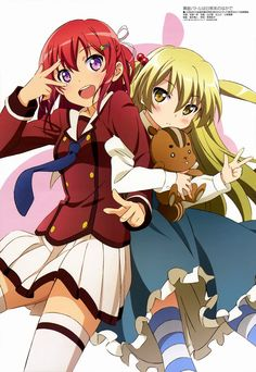Inou-Battle wa Nichijou-kei no Naka de - Chifuyu and Tomoyo Nichijou, Anime School Girl, Anime Girls, Your Name Anime, Battle Angel Alita, Monster Musume, Cg Artwork, Character Wallpaper, Female Anime