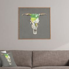 Terry Fan Go West Framed Wall Art | DENY Designs Home Accessories