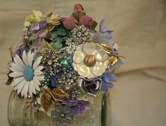 brooch bouquet #2