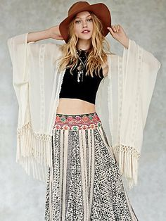 Using the border of the Sari to create a skirt like this.